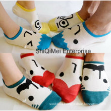 Cotton Parent-Child Cartoon Happy Lovers Socks